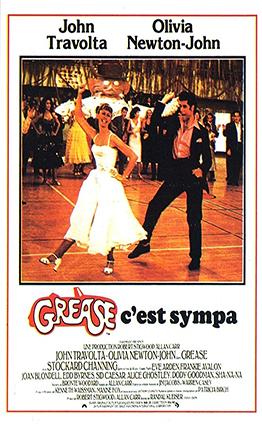 Affiche de Grease (1978).
