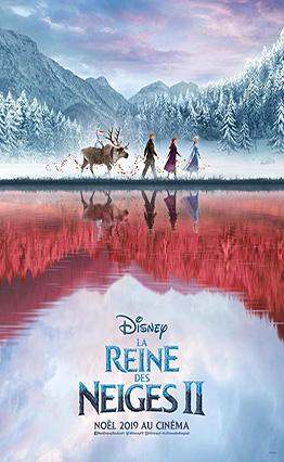Affiche La reine des neiges II (2019).