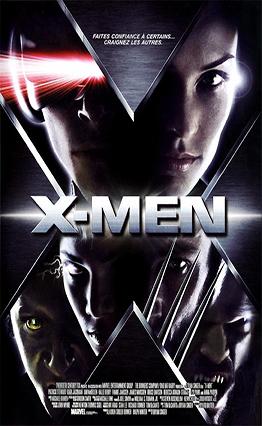 Affiche X-Men (2000).