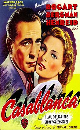 Affiche de Casablanca (1942).