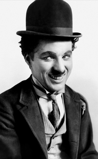 Photo de Charlie Chaplin.