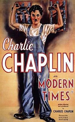 Affiche Les temps modernes (1936).