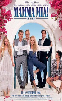 Affiche Mamma Mia! (2008).