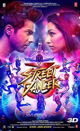 Affiche de Street Dancer 3 (2020).