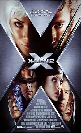 Affiche X-Men 2 (2003).