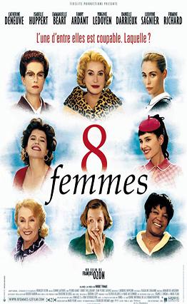 Affiche 8 femmes (2002).