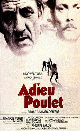 Affiche Adieu poulet (1975).