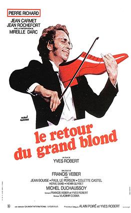 Affiche Le retour du grand blond (1974).