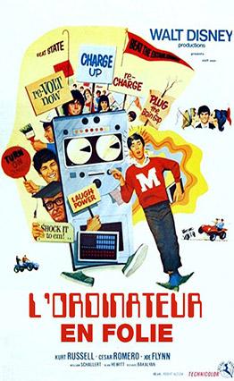 Affiche L'ordinateur en folie (1969).