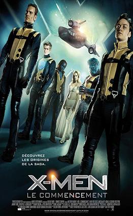 Affiche X-Men: Le commencement (2011)