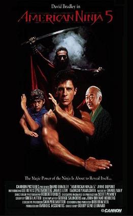 Affiche American Ninja 5 (1993).