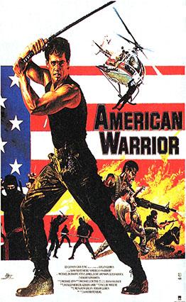 Affiche American Warrior (1985).