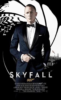 Affiche Skyfall (2012)