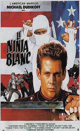 Affiche Le ninja blanc (1987)
