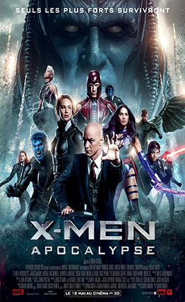 Affiche X-Men Apocalypse (2016)