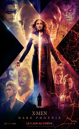 Affiche X-Men: Dark Phoenix (2019).
