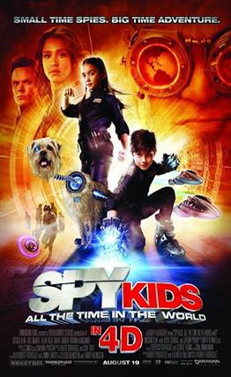 Affiche Spy Kids 4: Tout le temps du monde (2011)