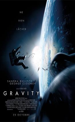 Affiche Gravity (2013)