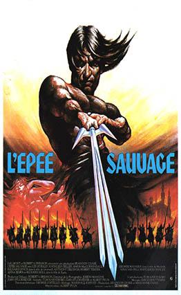 Affiche de L'épée sauvage (1982)