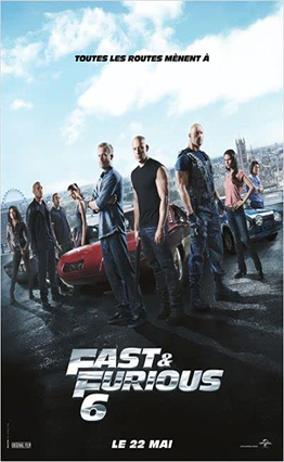 Affiche Fast & Furious 6 (2013)