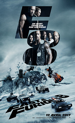 Affiche Fast & Furious 8 (2017)