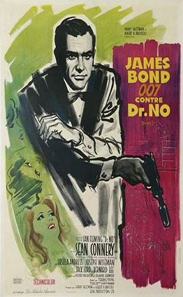 Affiche James Bond 007 contre Dr. No (1962)