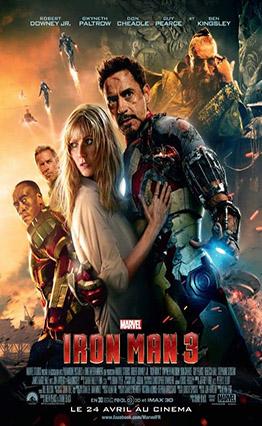 Affiche Iron Man 3 (2013)