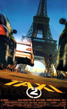 Affiche Taxi 2 (2000)