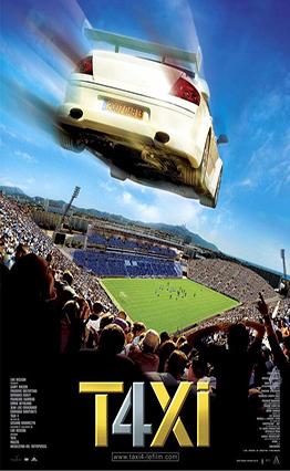 Affiche Taxi 4 (2007)