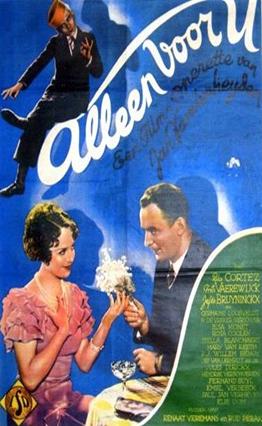 Affiche Alleen voor U (1935)