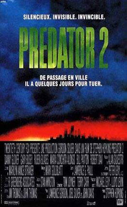 Affiche Predator 2 (1990)