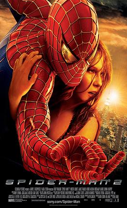 Affiche Spider-Man 2 (2004)